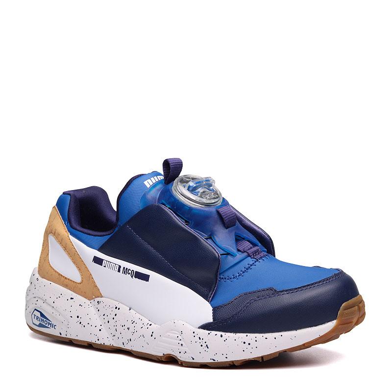 promo code 5743c 57055 ... Купить мужские синие,голубые,белые кроссовки puma mcq disc blue в  магазинах Streetball изображение ...