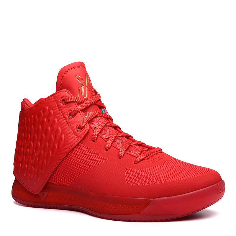 Кроссовки Brandblack J. Crossover 3Кроссовки баскетбольные<br>Синтетика, текстиль, резина<br><br>Цвет: Красный<br>Размеры : 8.5;9;11.5;12;12.5;13<br>Пол: Мужской