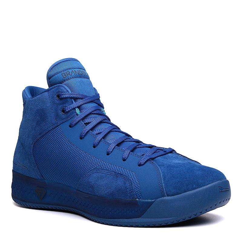 Кроссовки Brandblack EtherКроссовки баскетбольные<br>Кожа, текстиль, резина<br><br>Цвет: Синий<br>Размеры : 8.5;9;9.5;10;10.5;11;11.5;13<br>Пол: Мужской