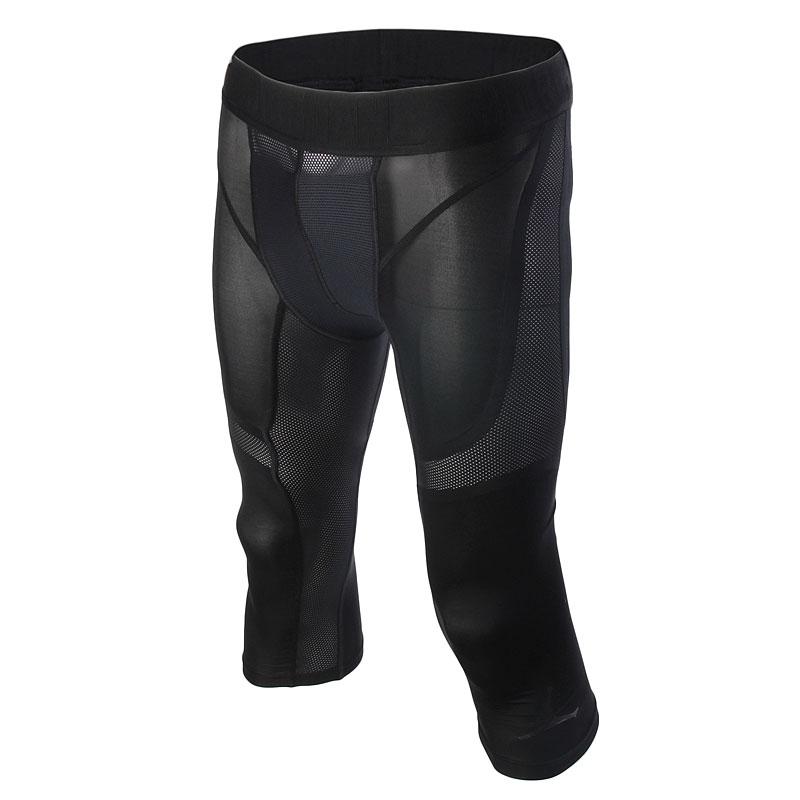 Шорты Jordan AJ Stay Cool 3/4Компрессионное белье<br>84% полиэстер, 16% эластан<br><br>Цвет: Черный<br>Размеры US: S;M;XL;2XL<br>Пол: Мужской
