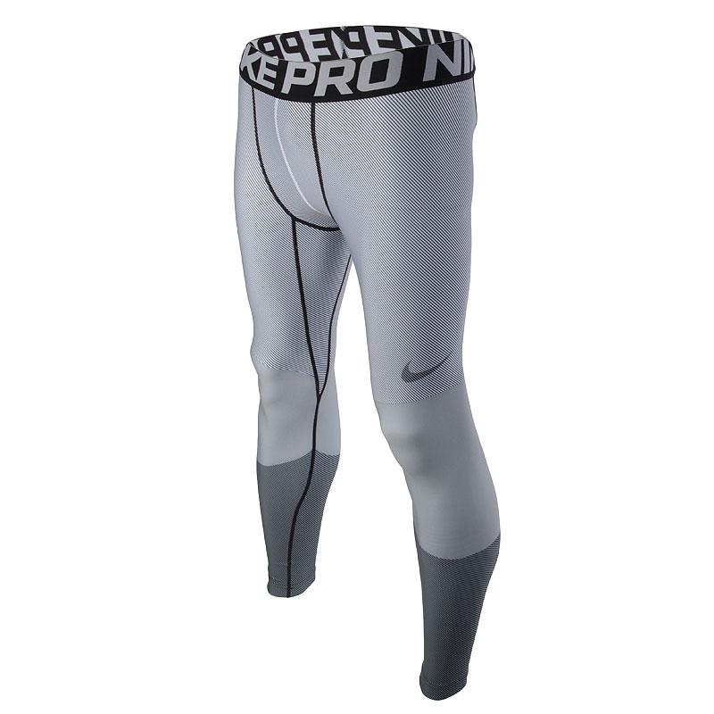 Брюки Nike Pro Hyperwarm CompКомпрессионное белье<br>88% полиэстер, 12% эластан<br><br>Цвет: Серый<br>Размеры US: S;M;L;XL;2XL<br>Пол: Мужской