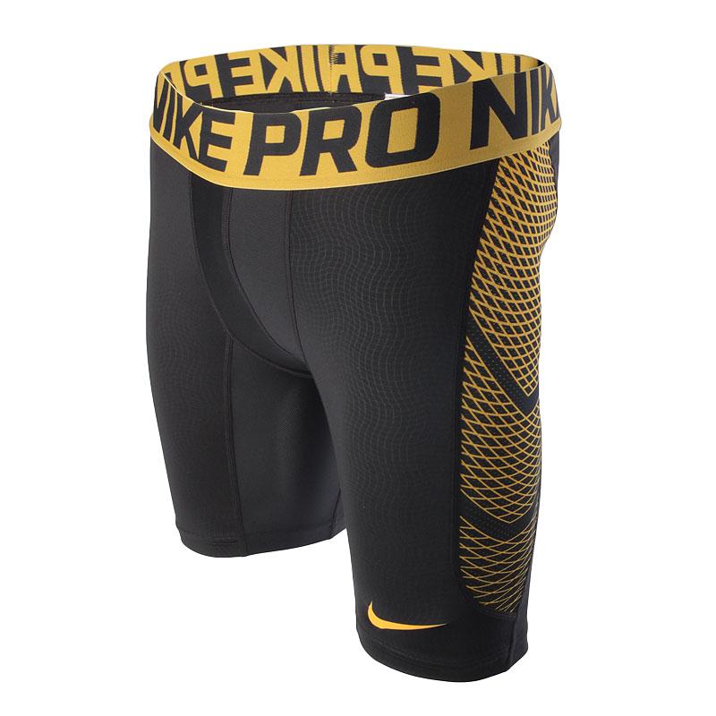 Шорты Nike Hypercool 6Компрессионное белье<br>92% полиэстер, 8% эластан<br><br>Цвет: Серый,желтый<br>Размеры US: S<br>Пол: Мужской