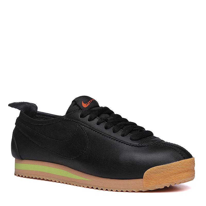 женские черные, коричневые, салатовые  кроссовки nike wmns cortez '72 847126-001 - цена, описание, фото 1