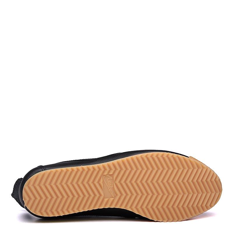 женские черные, коричневые, салатовые  кроссовки nike wmns cortez '72 847126-001 - цена, описание, фото 4