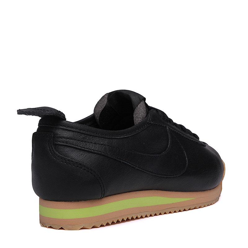 женские черные, коричневые, салатовые  кроссовки nike wmns cortez '72 847126-001 - цена, описание, фото 2