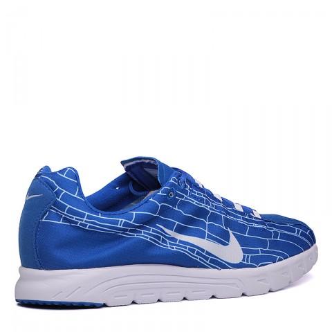 мужские синие, белые  кроссовки nike mayfly 310703-411 - цена, описание, фото 2