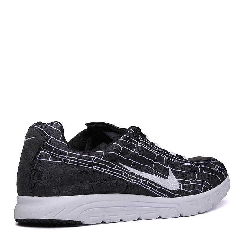 мужские черные, белые  кроссовки nike mayfly 310703-011 - цена, описание, фото 2