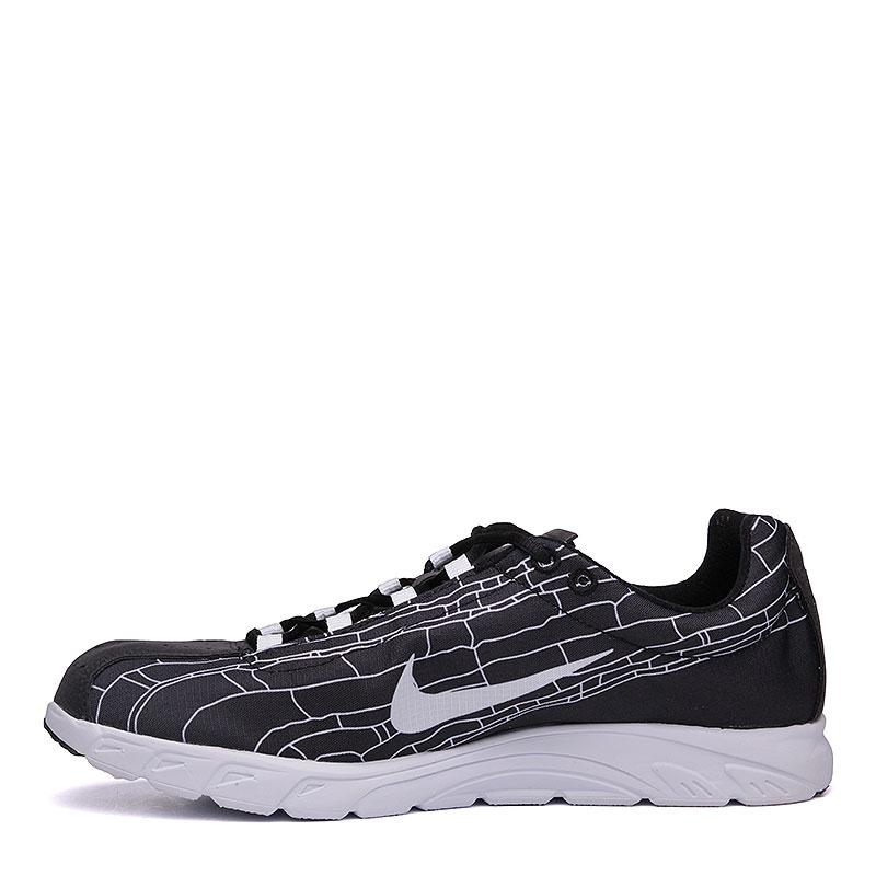 мужские черные, белые  кроссовки nike mayfly 310703-011 - цена, описание, фото 3