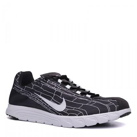 мужские черные, белые  кроссовки nike mayfly 310703-011 - цена, описание, фото 1