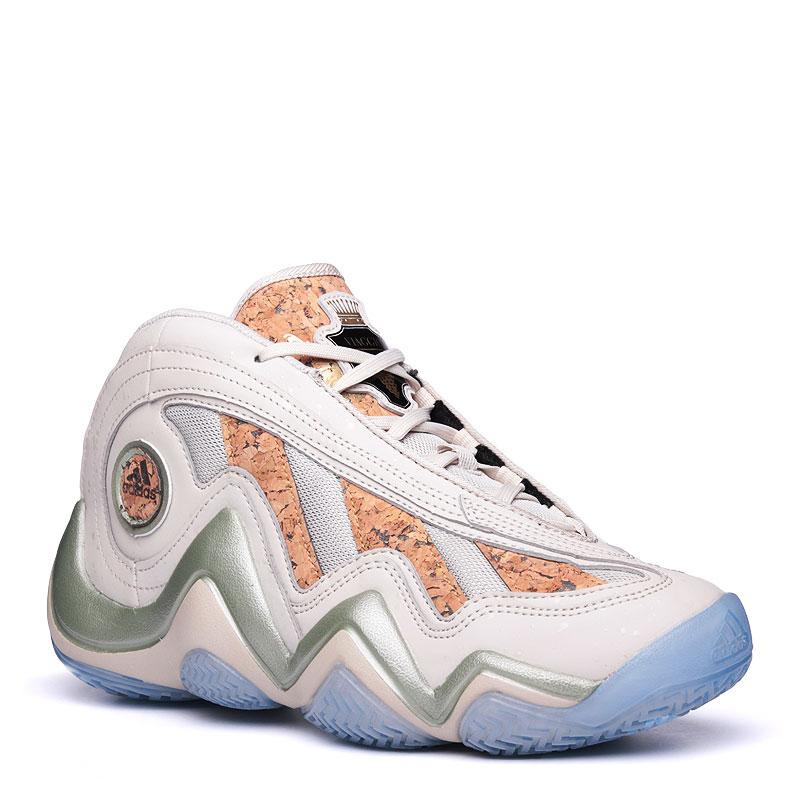 Кроссовки adidas Crazy 97Кроссовки баскетбольные<br>синтетика,кожа,текстиль,резина<br><br>Цвет: Бежевый<br>Размеры UK: 7.5;8;8.5;9;9.5;10;10.5<br>Пол: Мужской