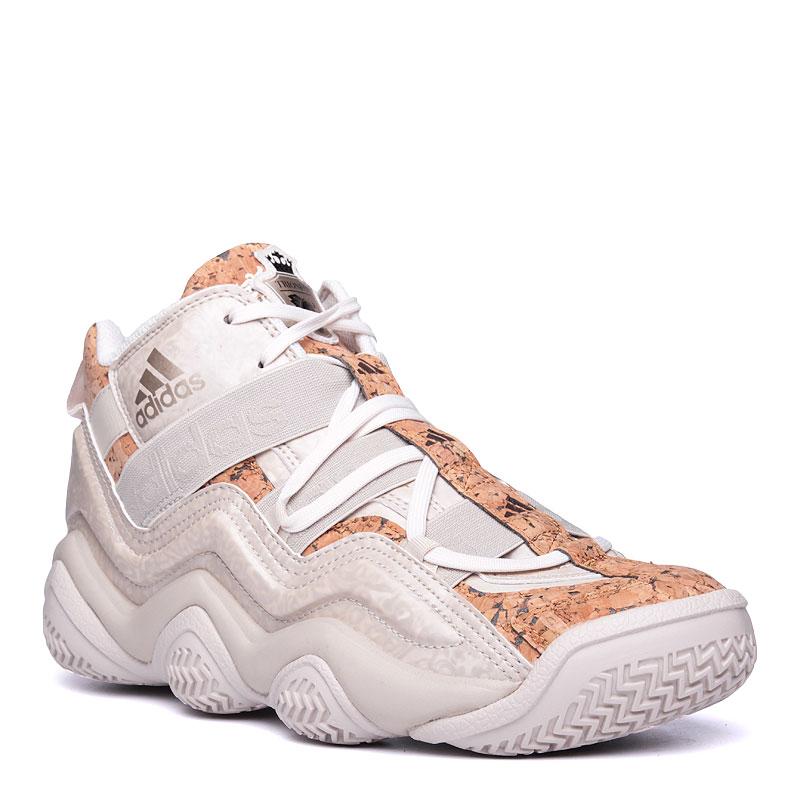 more photos a00b1 8cf2a мужские бежевые кроссовки adidas top ten 2000 AQ8539 - цена, описание, фото  1