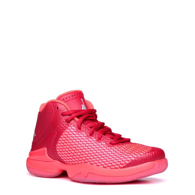 Кроссовки Air Jordan Super.Fly 4 PO BGКроссовки баскетбольные<br>кожа,текстиль,резина<br><br>Цвет: Красный,кораловый<br>Размеры US: 3.5Y;4Y;4.5Y;5Y;6Y;6.5Y
