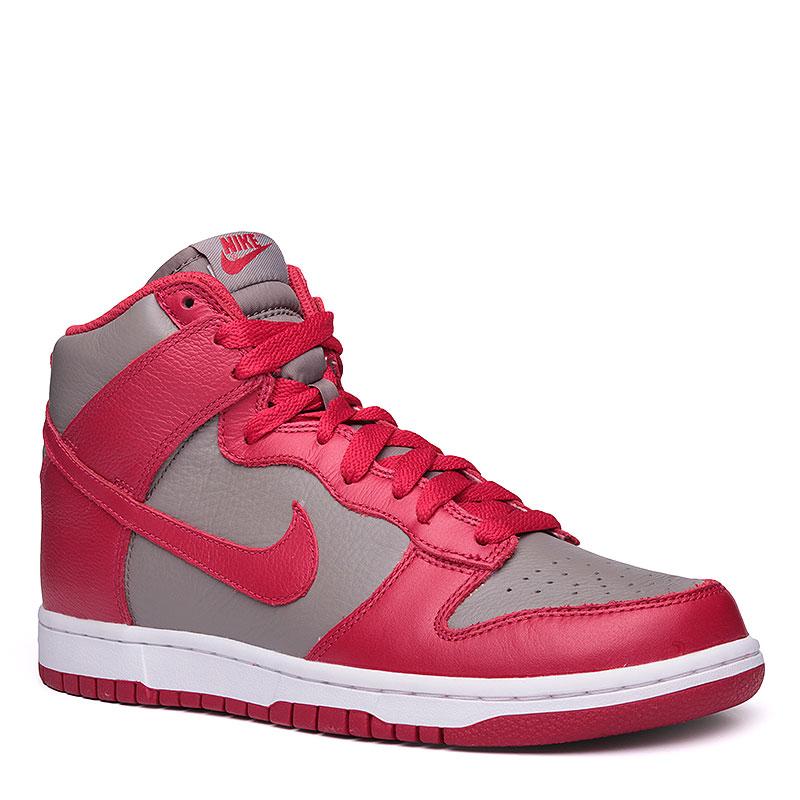 Кроссовки  Nike Sportswear Dunk Retro QSКроссовки lifestyle<br>Кожа, текстиль, резина<br><br>Цвет: Красный, серый<br>Размеры US: 8;9;9.5;10;11;11.5;12<br>Пол: Мужской