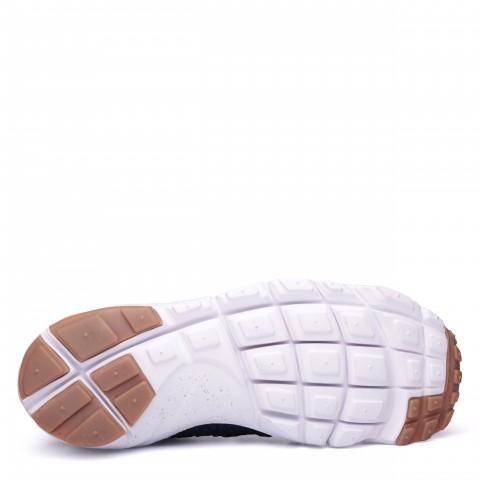 мужские синие, чёрные, белые  кроссовки  nike air footscape magista flyknit 816560-400 - цена, описание, фото 4