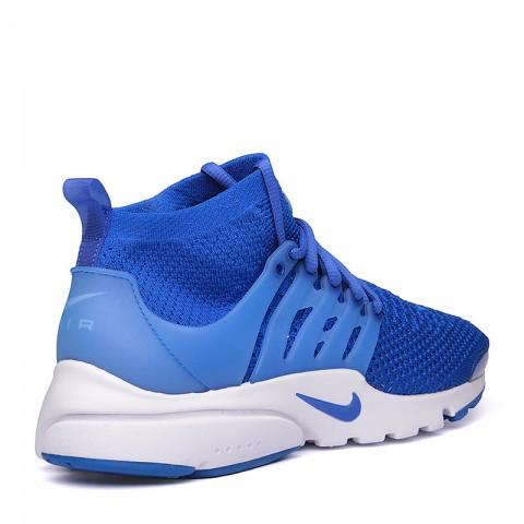 мужские синие, белые  кроссовки  nike air presto flyknit ultra 835570-400 - цена, описание, фото 2