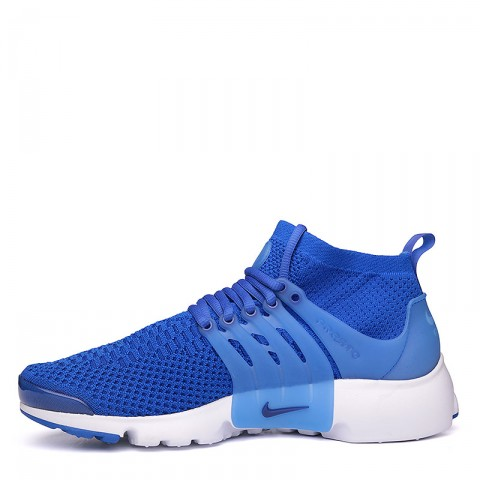 мужские синие, белые  кроссовки  nike air presto flyknit ultra 835570-400 - цена, описание, фото 3