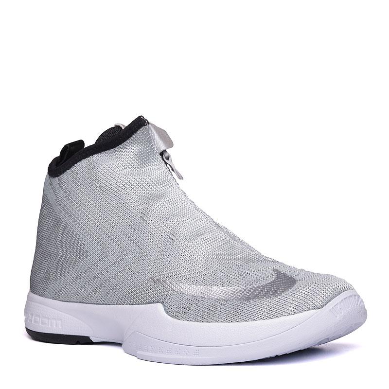 Кроссовки Nike Zoom Kobe Icon JCDR PRMКроссовки баскетбольные<br>Текстиль,резина<br><br>Цвет: Серый<br>Размеры US: 11<br>Пол: Мужской