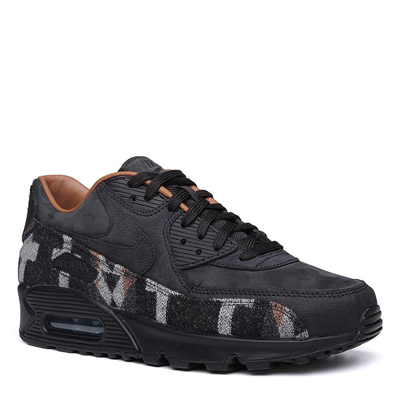 Кроссовки  Nike sportswear Air Max 90 PND QSКроссовки lifestyle<br>Кожа, текстиль, резина<br><br>Цвет: Черный, коричневый, серый<br>Размеры US: 8;8.5;9.5;13