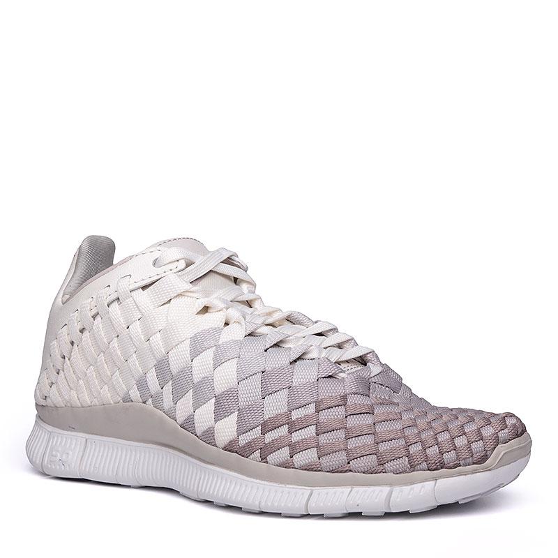 Кроссовки  Nike WMNS Free Inneva WovenКроссовки lifestyle<br>Текстиль, кожа, резина<br><br>Цвет: Серый<br>Размеры US: 6;7<br>Пол: Женский