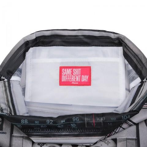 серый, черный  мешок kream raheem bag reversible 9152-5614/9000 - цена, описание, фото 4