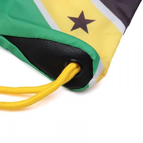 зелёный, жёлтый, чёрный  мешок kream jamaican redneck bag 9143-5616/3206 - цена, описание, фото 5