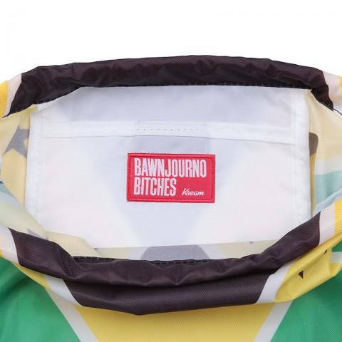 зелёный, жёлтый, чёрный  мешок kream jamaican redneck bag 9143-5616/3206 - цена, описание, фото 4