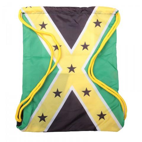 зелёный, жёлтый, чёрный  мешок kream jamaican redneck bag 9143-5616/3206 - цена, описание, фото 2