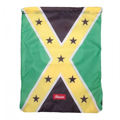 зелёный, жёлтый, чёрный  мешок kream jamaican redneck bag 9143-5616/3206 - цена, описание, фото 1