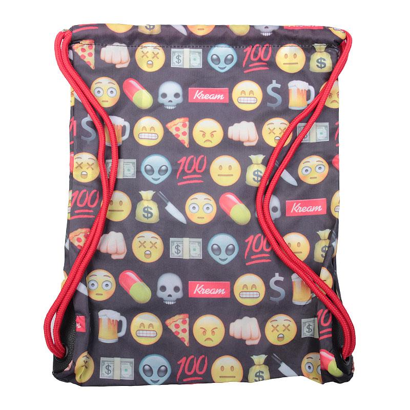 серый, желтый  мешок kream kreamojis bag 9143-5641/0900 - цена, описание, фото 2