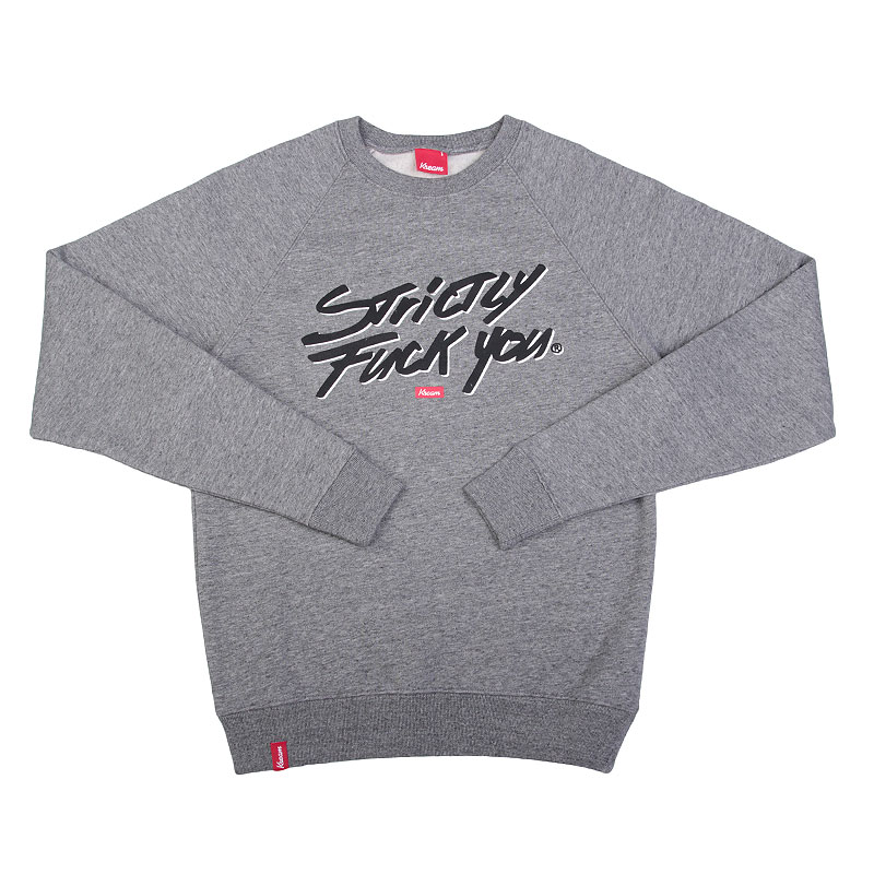 Толстовка Kream Strictly Fuck You Crewneck
