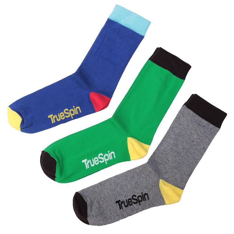 Носки True spin Монте КолерНоски<br>Хлопок, эластан<br><br>Цвет: Синий, зелёный, серый, жёлтый, чёрный<br>Размеры : OS<br>Пол: Мужской