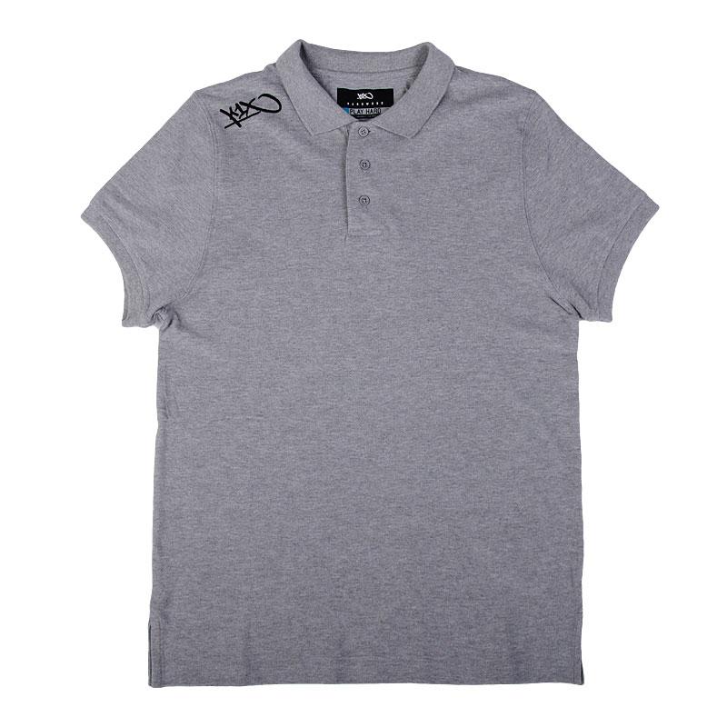 Поло K1X Hardwood coaching poloПоло рубашки<br>100% хлопок<br><br>Цвет: Серый<br>Размеры US: M;L;XL;2XL<br>Пол: Мужской