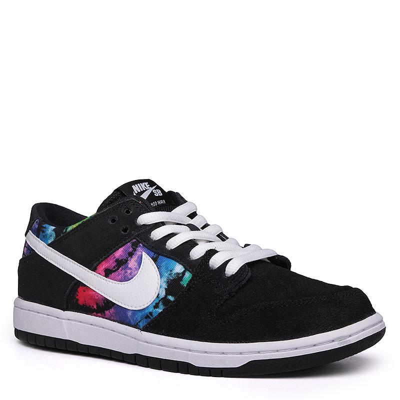 Кроссовки Nike SB Dunk Low Pro IWКроссовки lifestyle<br>Кожа, текстиль, резина<br><br>Цвет: Черный, белый<br>Размеры US: 8;12<br>Пол: Мужской