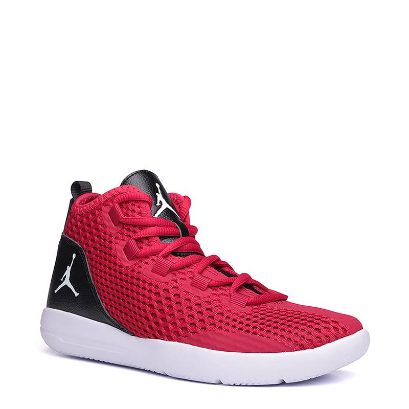 Кроссовки Jordan Reveal BGОбувь детская<br>Текстиль, синтетика, пластик<br><br>Цвет: Черный, красный, белый<br>Размеры US: 3.5Y;4Y<br>Пол: Детский