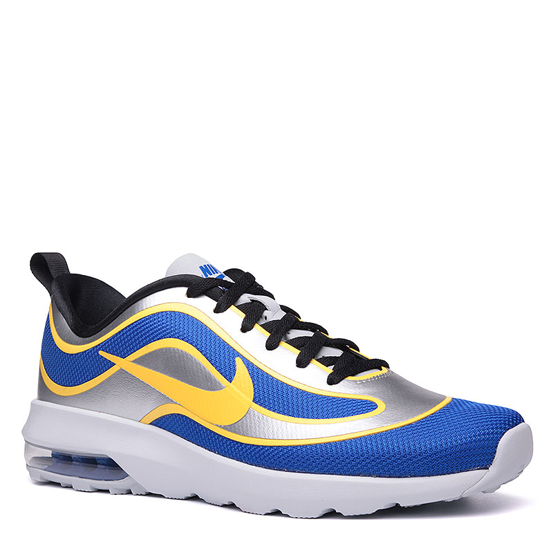 Кроссовки  Nike sportswear Air Max Mercurial 98 QSКроссовки lifestyle<br>Пластик, текстиль, резина<br><br>Цвет: Синий, белый, золотой<br>Размеры US: 9;9.5;12