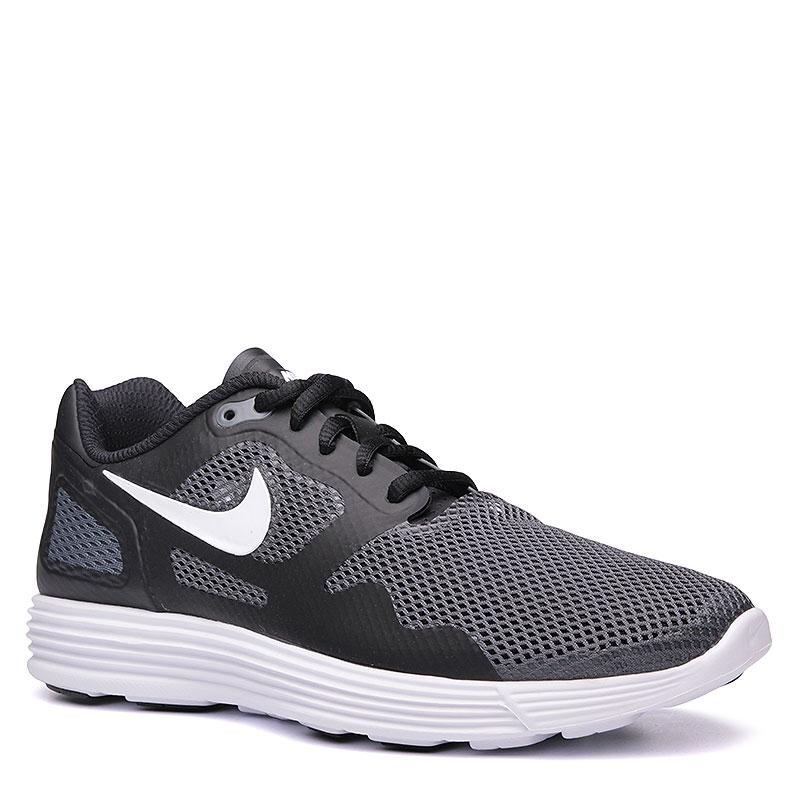 Кроссовки  Nike Lunar Flow SEКроссовки lifestyle<br>Пластик, текстиль, резина<br><br>Цвет: Чёрный, серый, белый<br>Размеры US: 9;9.5<br>Пол: Мужской