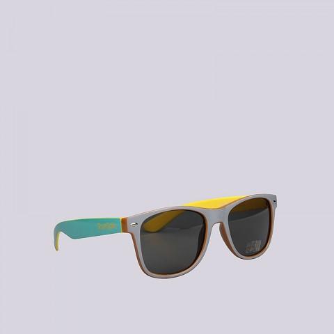 серые, жёлтые, голубые  очки true spin hongkong Hongkong-g/br/mt/yel - цена, описание, фото 1
