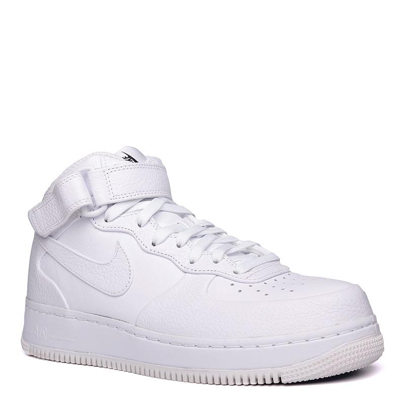 Кроссовки Nike Sportswear Air Force 1 Mid CMFT SPКроссовки lifestyle<br>кожа,текстиль,резина<br><br>Цвет: Белый<br>Размеры US: 8.5;9;9.5;10;10.5;11;12<br>Пол: Мужской