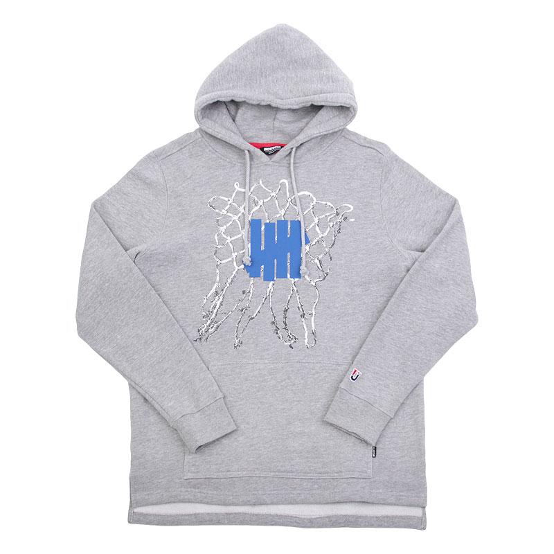 Толстовка Undftd Net Pullover HoodieТолстовки свитера<br>80% хлопок, 20% полиэстер<br><br>Цвет: Серый<br>Размеры US: L;XL<br>Пол: Мужской
