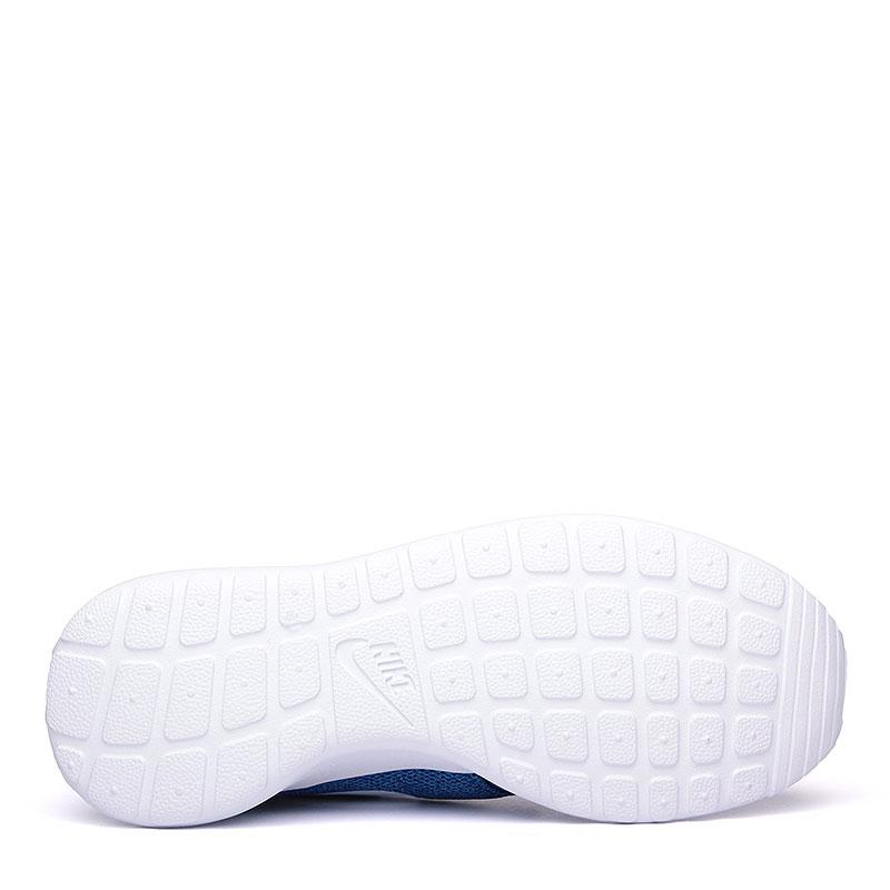 женские синие, белые  кроссовки nike wmns roshe one 844994-400 - цена, описание, фото 4