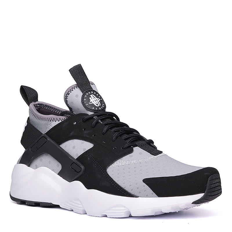 a3c10e67 мужские черные, серые, белые кроссовки nike air huarache run ultra  819685-010 -