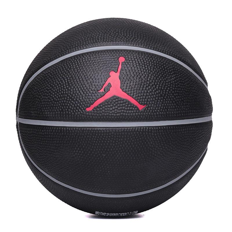 Мяч Jordan MiniМячи<br>кож.зам<br><br>Цвет: Черный<br>Размеры US: 3