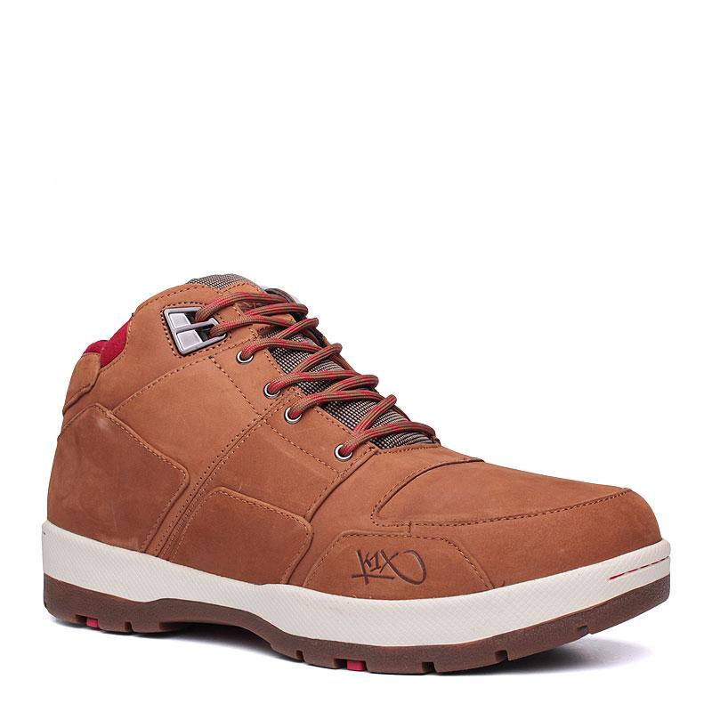 Ботинки K1X h1ke allxs leБотинки<br>кожа,текстиль,резина<br><br>Цвет: Коричневый<br>Размеры US: 9;12<br>Пол: Мужской