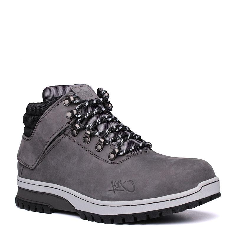 Ботинки K1X h1ke territory superior mk3Ботинки<br>кожа,текстиль,резина<br><br>Цвет: Серый<br>Размеры US: 8;10;10.5;11;11.5;12;12.5<br>Пол: Мужской