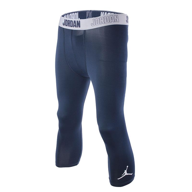 Шорты Jordan 23 Pro Dry 3/4Компрессионное белье<br>полиэстер, эластан<br><br>Цвет: Синий<br>Размеры US: S;M;L;XL<br>Пол: Мужской