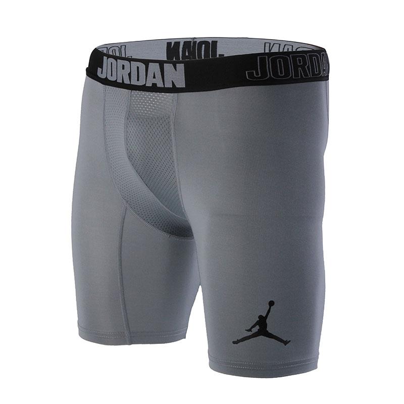 Шорты Jordan Air JordanКомпрессионное белье<br>полиэстер, эластан<br><br>Цвет: Серый<br>Размеры US: S;M;L;XL;2XL<br>Пол: Мужской