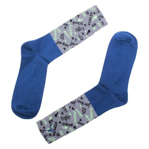 мужские синие  носки jordan air jordan vi low 707548-449 - цена, описание, фото 1