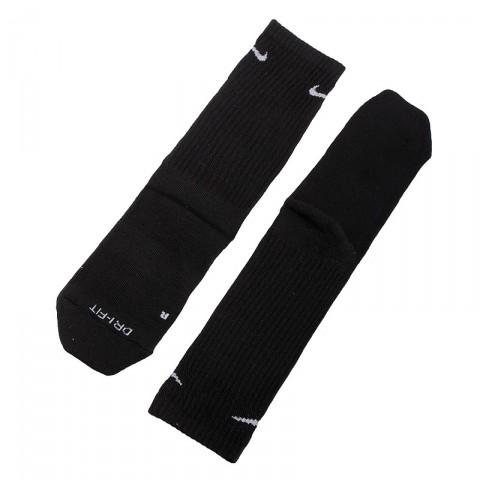 мужские черные  носки nike dri-fit elite crew SX2932-001 - цена, описание, фото 1