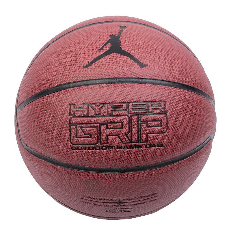 Мяч Jordan Hyper GripМячи<br>резина<br><br>Цвет: коричневый<br>Размеры US: 7