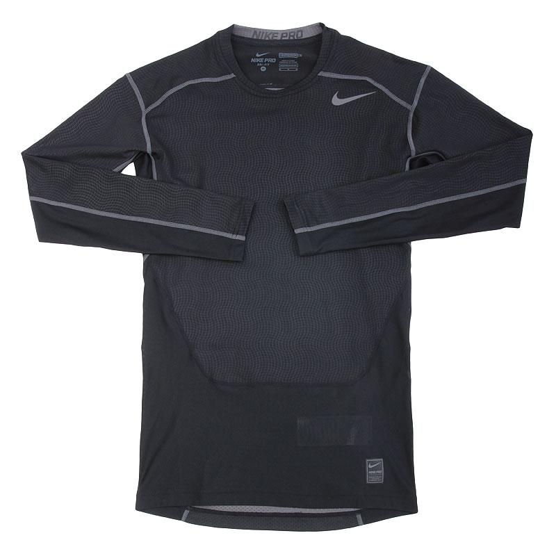 Футболка Nike Hypercool CompКомпрессионное белье<br>полиэстер<br><br>Цвет: Черный<br>Размеры US: M<br>Пол: Мужской